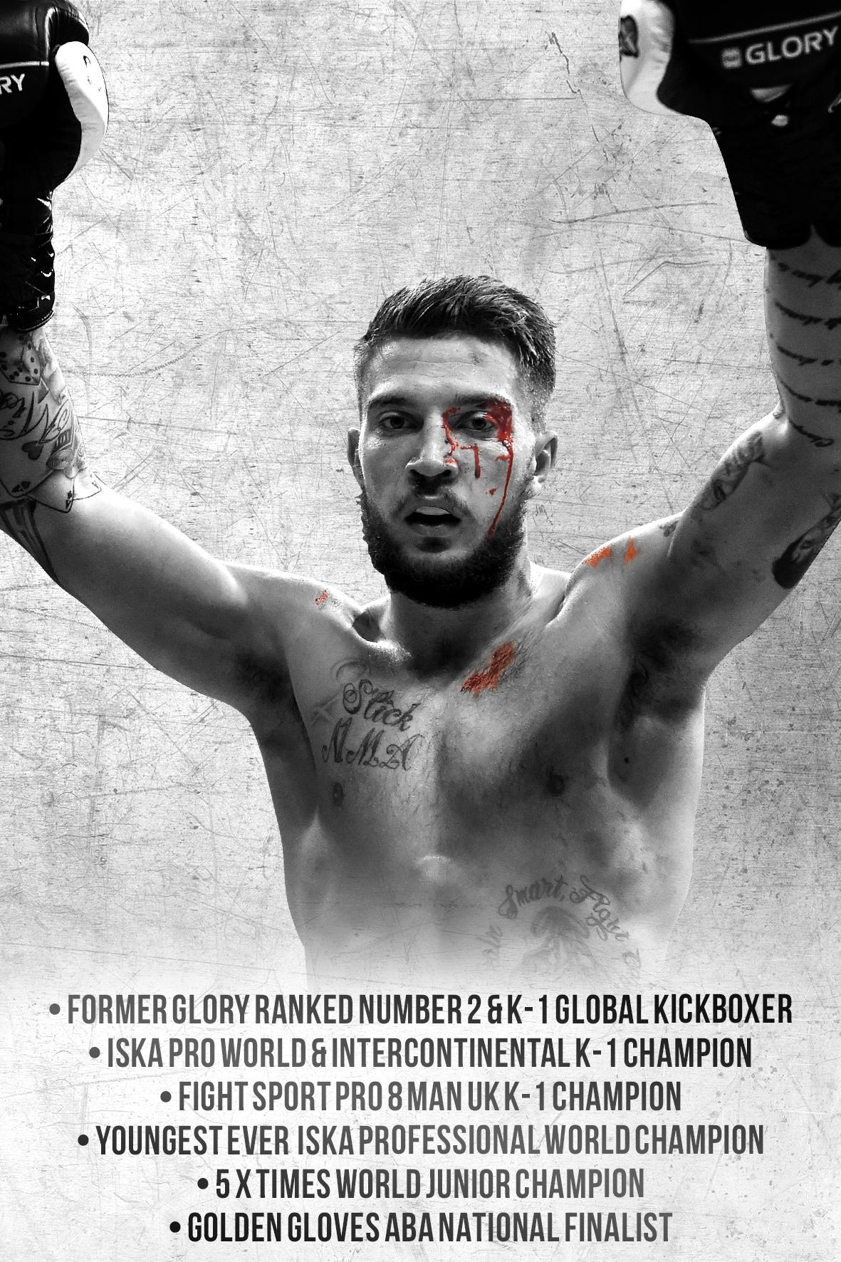 K-1 / Kickboxing Career – Chad '2 Slick' Sugden